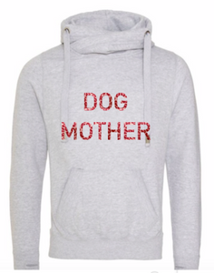 Grey Hoodie - Dog Mother