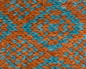 Turquoise & Orange - Barclay Design - Dog Harness