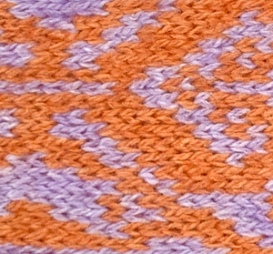 Lilac & Orange - Kerr Design - Dog Harness