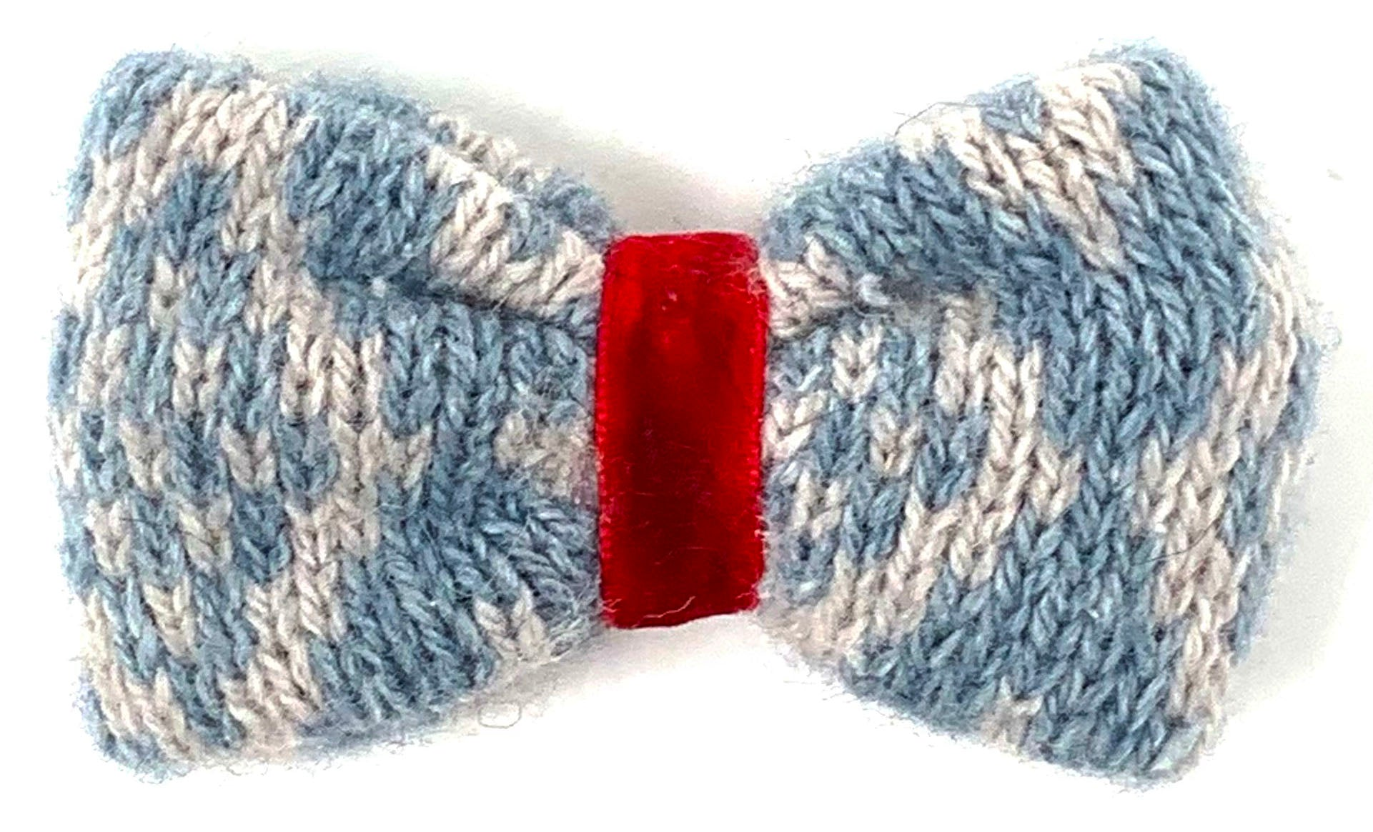 Ice Blue & Dove - Barclay Design - Bow Tie