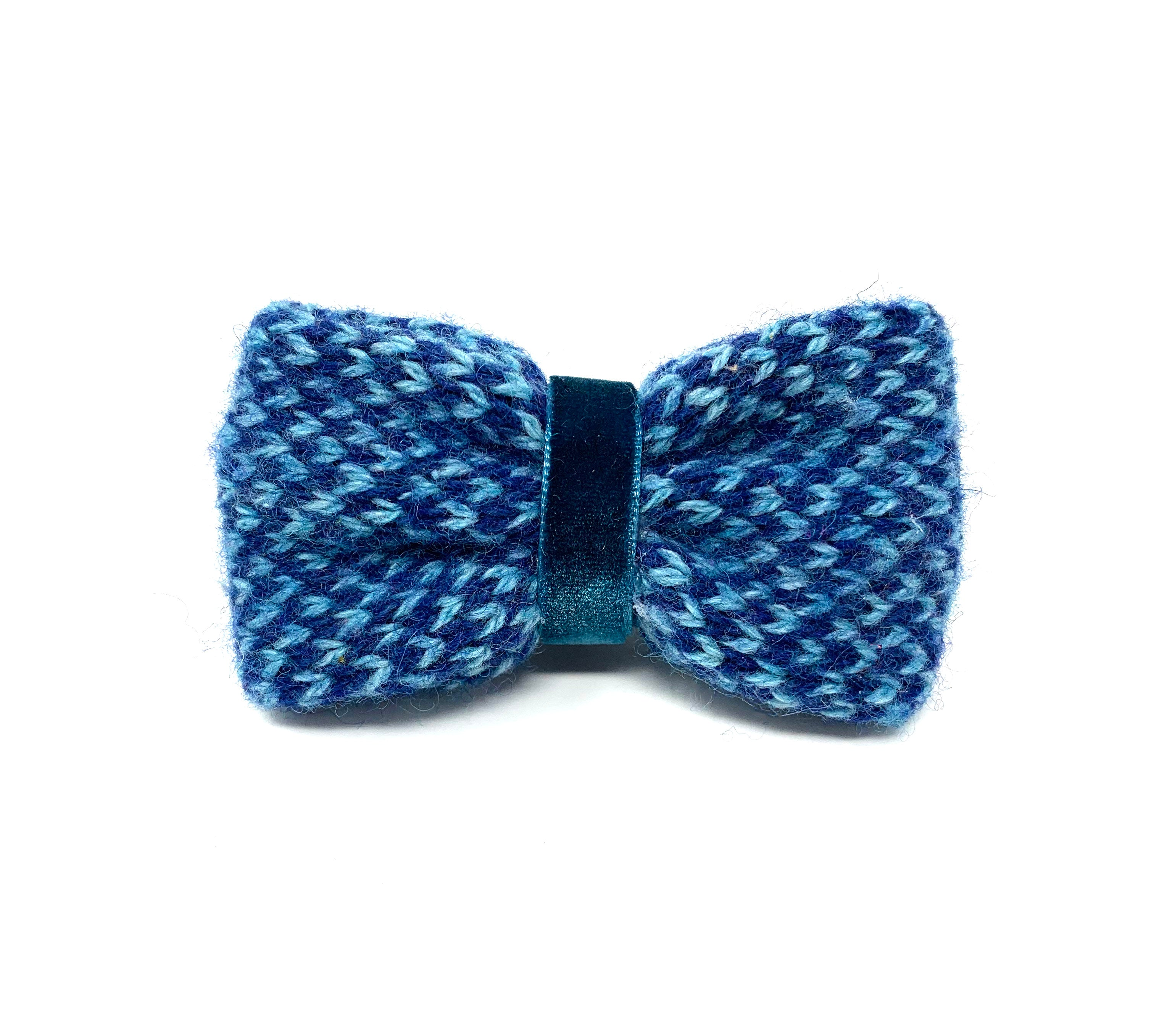 Navy & Turquoise - Harris Design - Bow Tie