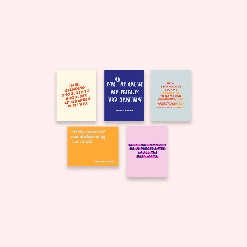 Pandemic Puns Ramadan Card Set