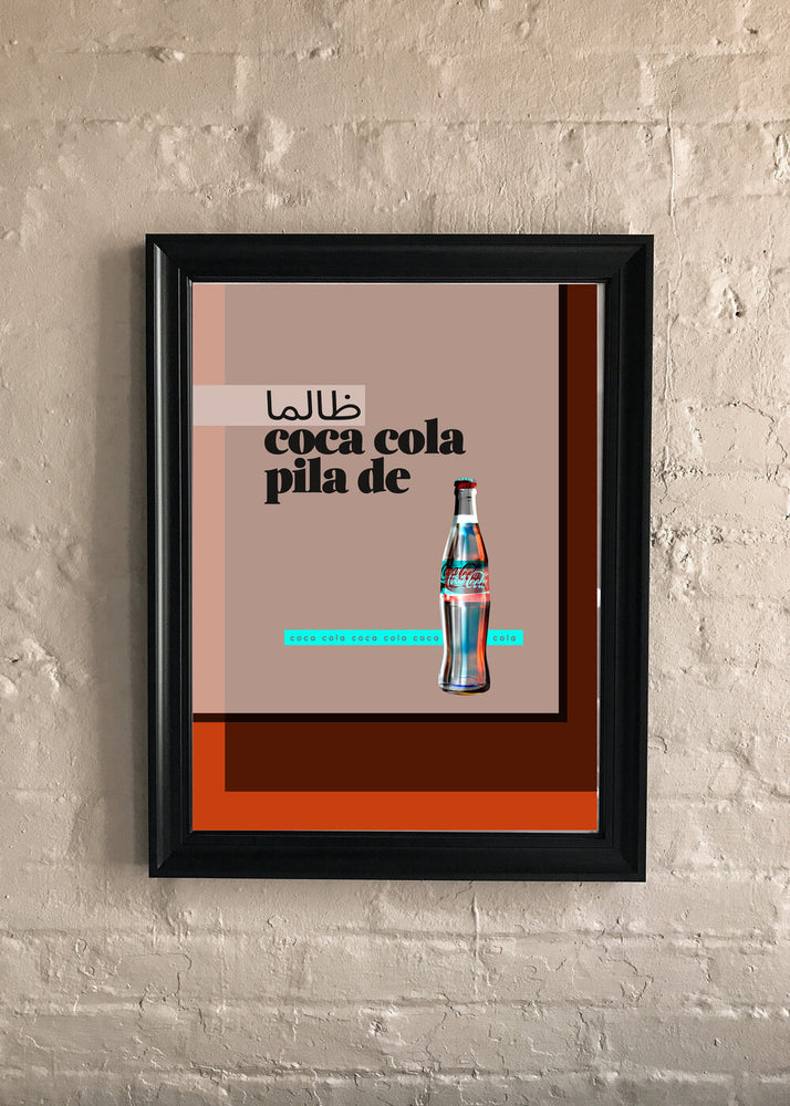 Load image into Gallery viewer, Coca Cola Zaalima