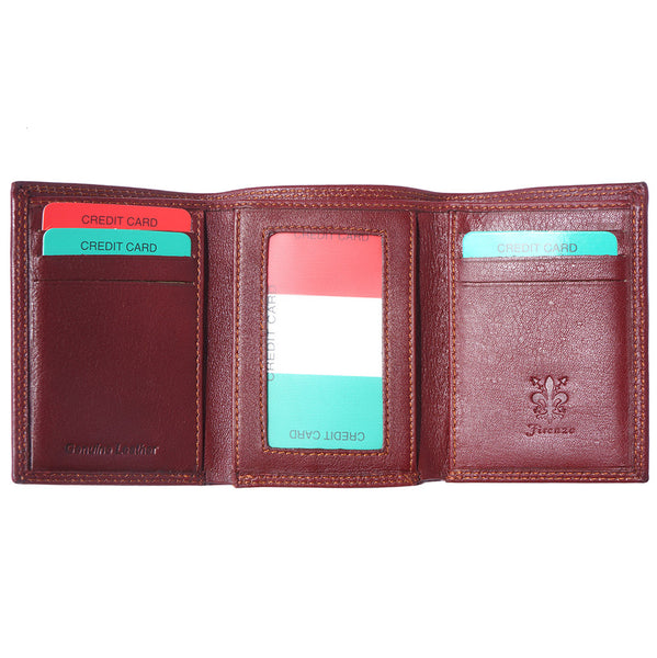 Bartolomeo soft leather wallet