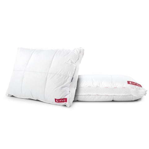 Vinci Down Deluxe Classic Pillow White