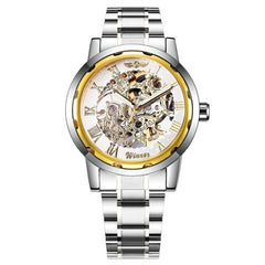 Mechanical Watch for Men Fashion Skeleton