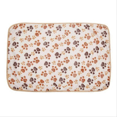New Cute Dog Bed Mats Soft Flannel