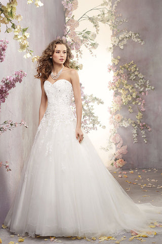 ALFRED ANGELO bridal 2419 front