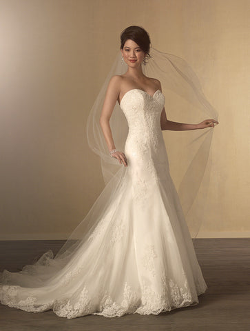 Alfred Angelo Style 2438 Front view