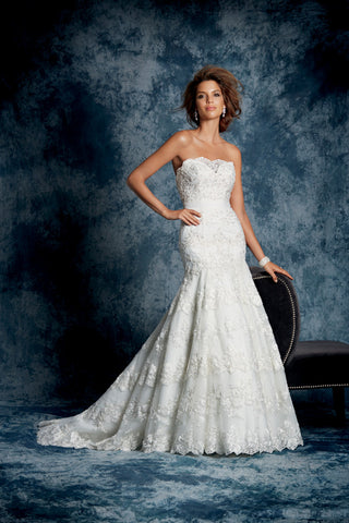 Alfred Angelo Style 896 Front view