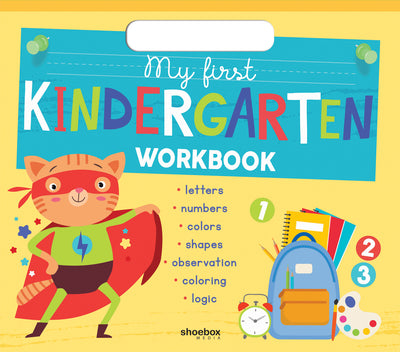 My First Kindergarten Workbook