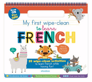 My First Wipe-Clean to Learn French