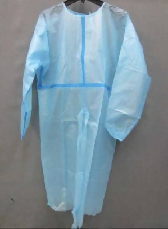 Disposable isolation gown AAMI Level 3 - HealthEquip