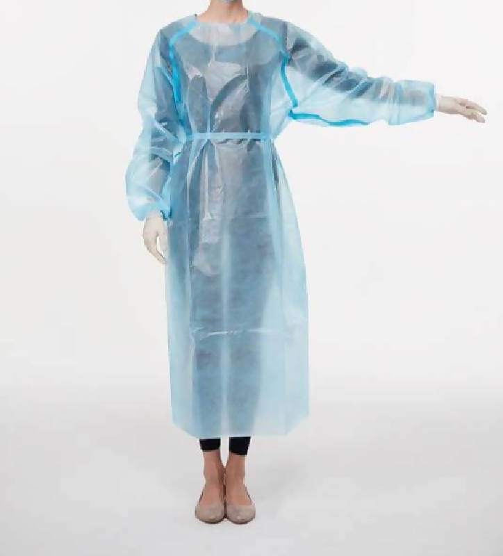 Isolation Gown AAMI Level 3 PP + PE Box of 100 - T0027 - HealthEquip
