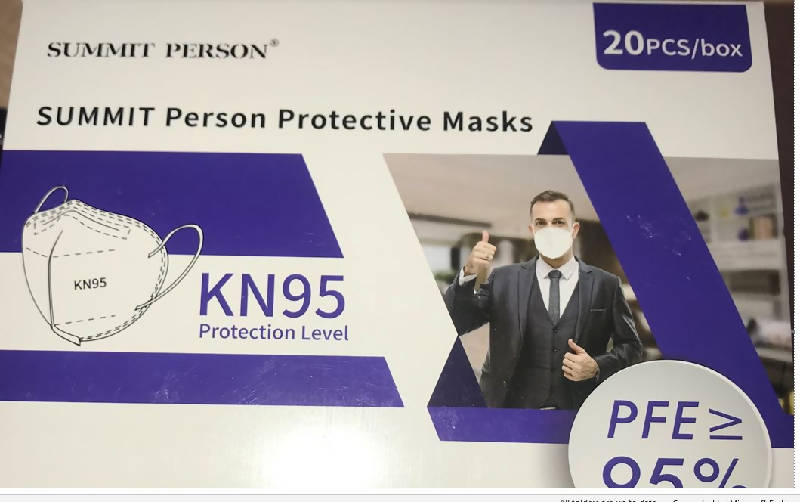 KN95 Protective Masks - HealthEquip