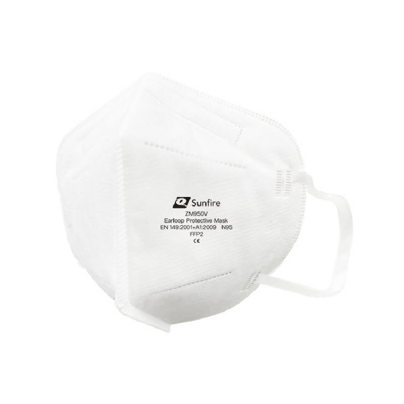 Sunfire ZM950V Earband Particulate Mask ( without respiration valve ) - HealthEquip