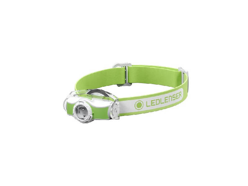 MH5 LED Headlamp Green/White - HealthEquip