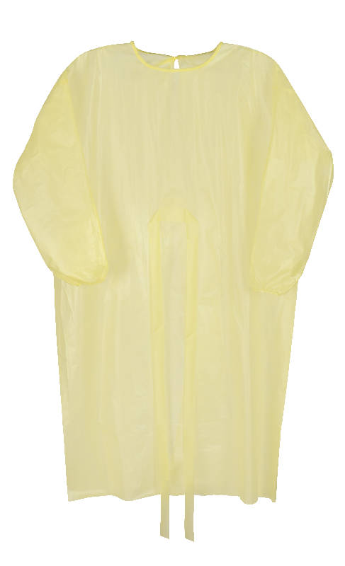 AAMI Level 1 Disposable Isolation Gown - HealthEquip