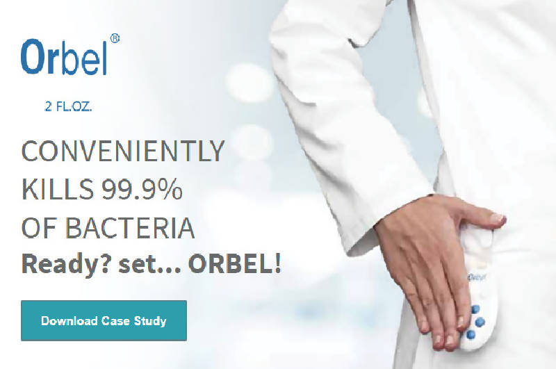 Orbel Hand Sanitizer (24 units) - HealthEquip