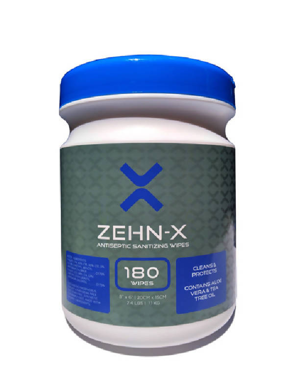 Zehn-X Sanitizing/Antibacterial Wipes - HealthEquip