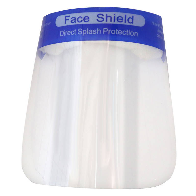 100 Pack of Protective Face Shields - HealthEquip