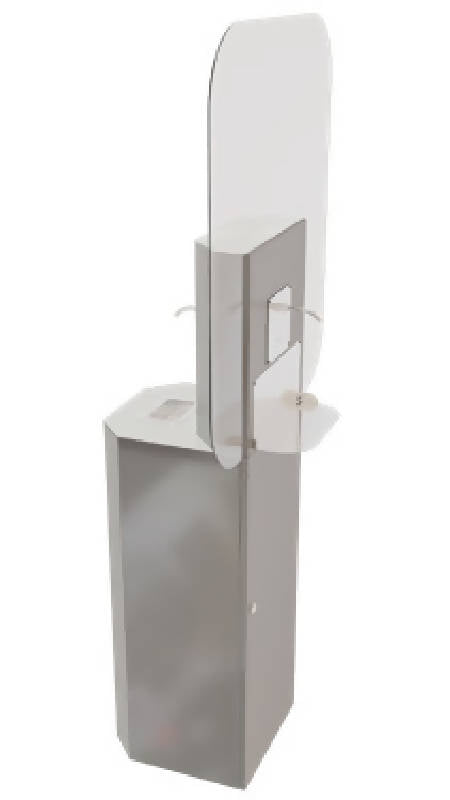 High-Use Touchless Hand Sanitizing Station - HealthEquip