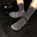 1 Pair Outdoor Sport Socks Winter Thick Compression Basketball Socks Compression Ski Tubing Fitness Sweat Towel Sock