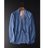 100% Lyocell Men's Blazers Spring And Autumn