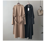 Business Suit Collar Long Sleeve Trench 2020 Autumn New Casual