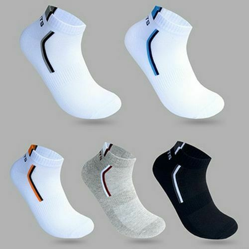 10pcs=5Pairs Mens Autumn Summer Socks Classic Patchwork Mesh Breathable Cotton Men Short Sock Male Socks EU 39-43 Meias