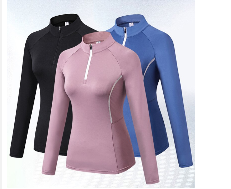 Women's Sports Long Sleeves T-shirts Spring Clothing Ladies Fitness Gym Clothing,Running Shirts Female Jacket Rashguard Hoodie