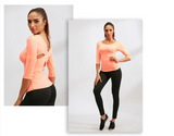 Women Beauty Back Pack Yoga Shirts Fitness Gym Clothing Bodybuilding Running Tights Training Jerseys Quick Dry Tops Sexy Blouse