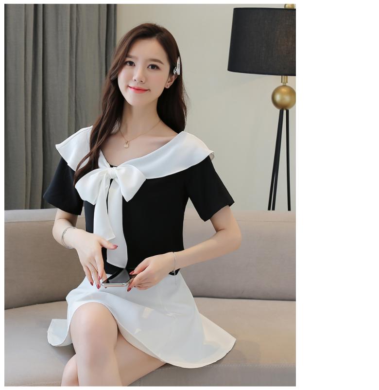 Chiffon Top Female 2020 Summer New Short-Sleeved Shirt Blusas Femininas Elegante Womens tops and blouses Womens shirts 690i