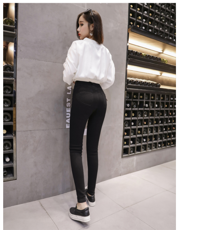 Sexy Women Casual Jeans Skinny Lift Butt Leggings Low Waist Denim Pants Push Up Hip Pencil Lift Jeans Women High Street 820E