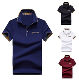 Men Polo Shirt Cotton Polo Shirts Short Sleeve Business Polo Shirt Casual Large Size Short Sleeve Men 2020