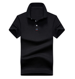 Polo Shirt Men Cotton Short-sleeved Men Fashion Business Men Polo Casual Shirt Men Short-sleeved