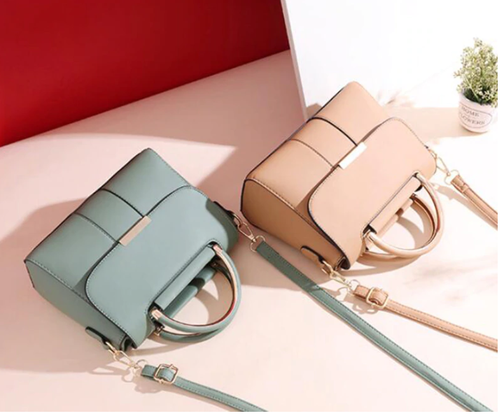 Solid Color Fashion PU Leather Mini Handbags For Women 2020 Summer Luxury Shoulder Bag Female Travel Phone Purses Crossboyd Bags