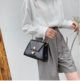 Small PU Leather Crossbody Bags For Women Female Retro Alligator Shoulder Messenger Bag Ladies Handbags and purse