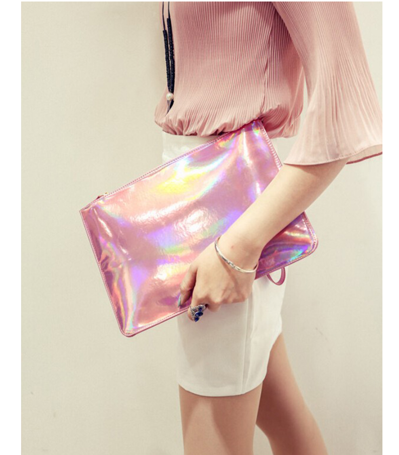 2020 Fashion torebki damskie ladies Envelope Clutches bags Laser women bags Designer clutch bag
