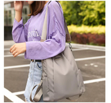 Fashion Laptop Backpack Nylon Charge Computer Backpack Anti-theft Waterproof Bag for Women Oxford cloth student bag Teenage