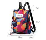 Fashion Waterproof Oxford Women Anti-theft Backpack High Quality School Bag For Women Multifunctional Travel Bags bagpack plecak
