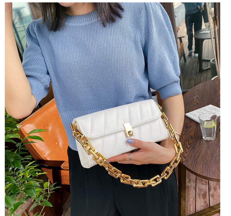 Fashion Bag For Women Soft PU Leather Hobos Bag Shoulder Purse Women Chain Crossbody Bag Luxury Handbag And Purse Day Flap Tote