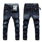 2020 Brand Jeans  New Men Jeans Business Casual,Slim Fit  Elastic Force Fashion Denim Jeans Trousers Male Brand Pant