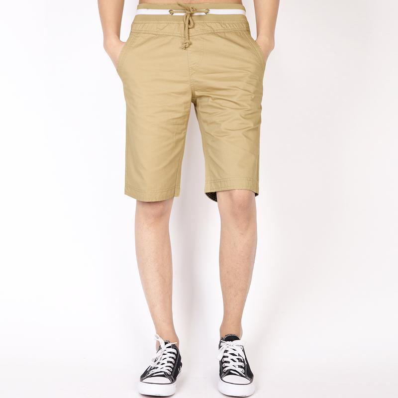 2020 Brand Solid High Quality Compression Male Cargo Shorts Men Fashion Summer Men Short  Men Casual Bermuda MasculinM-5XL