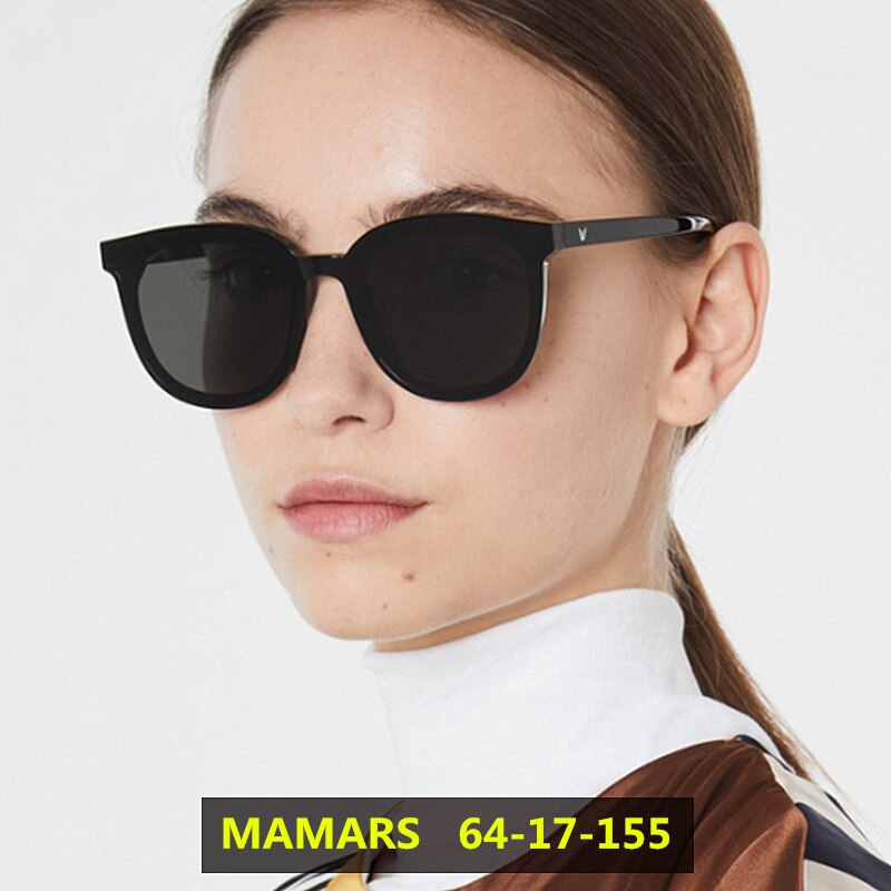 2020 New Korean Design Sunglasses Women Trendy GM Large Frame Sunglasses Men Vintage Gentle Sun glasses Original Package MAMARS