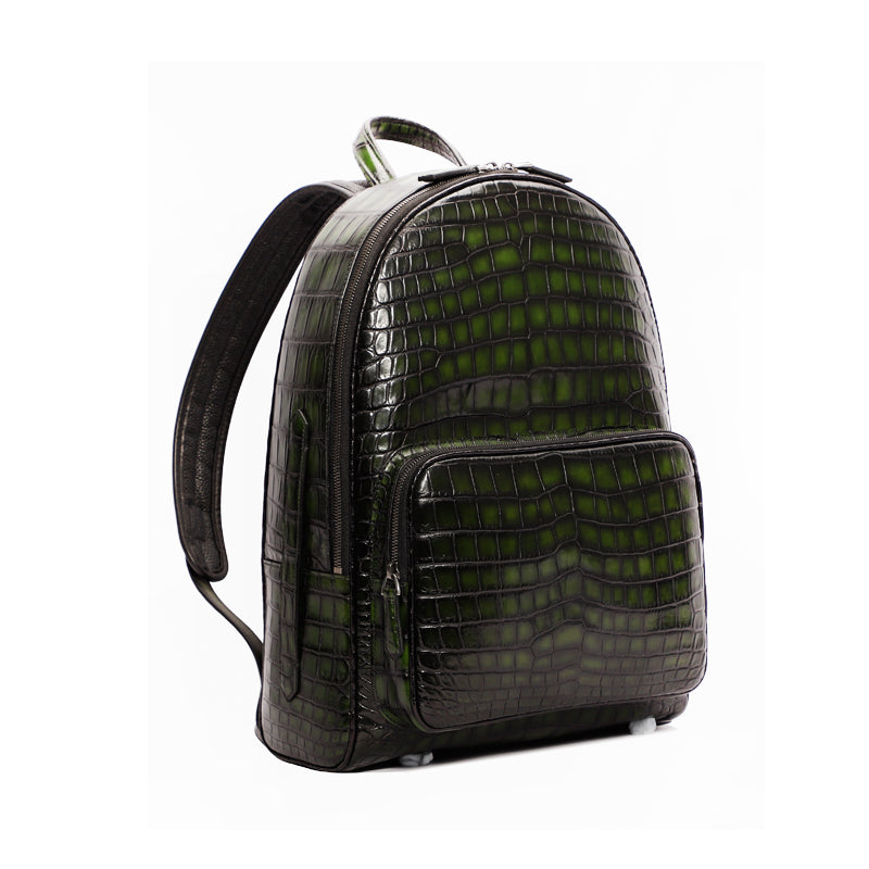 Royal Crocodile Backpack- Royal Anvil