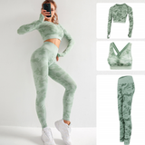 Camo Fitness Sport Set- Royal Anvil