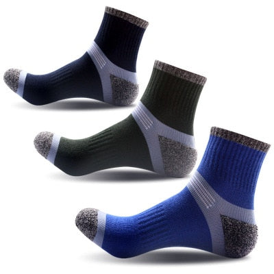 Autumn Winter Fashion Cotton Casual Men crew socks high quality Brand black socks for male EU 40-44 Meias