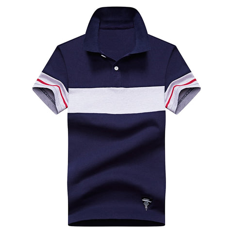 Stitching Polo Shirt Men Fashion Breathable Short Sleeve Men Business Casual,Polo Shirt Men Short Sleeve 2020