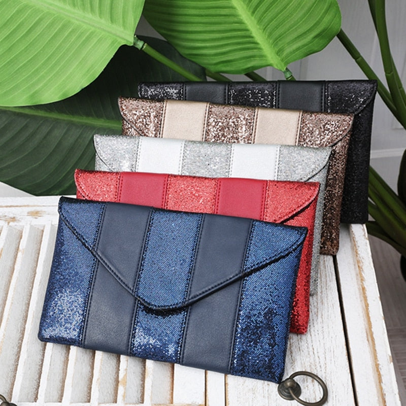 Fashion clutch envelope bag female sac bag Clutches taschen women's clutch bag leather women pochette femme Mini Purse